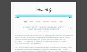 Miss MJ: Mi blog.